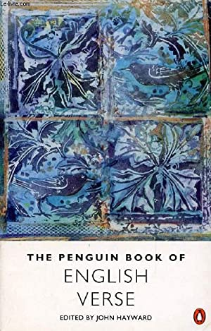 THEPENGUIN BOOK OF ENGLISH VERSE: COLLECTIF