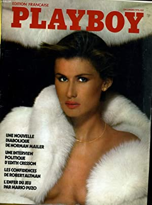 PLAYBOY EDITION FRANCAISE N° 37 - UNE NOUVELLE DIABOLIQUE DE NORMAN MAILER - UNE INTERVIEW ...