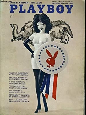 """PLAYBOY ENTERTAINMENT FOR MEN N° 11 - """"INSTANT ELECTORATE"""" BY ROBERT SHERRILL - ..."""