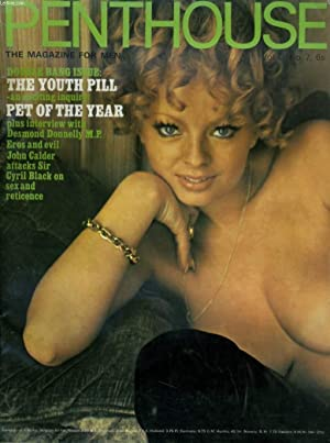 PENTHOUSE, THE MAGAZINE FOR MEN VOL. 3. No. 7 - BOUBLE BANG ISSUE: THE YOUTH PILL - AN EXCITING ...