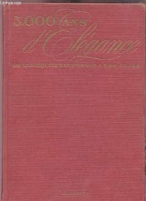 5000 ANS D'ELEGANCE DE L'ANTIQUITE EGYPTIENNE A NOS JOURS.: CONTINI M.