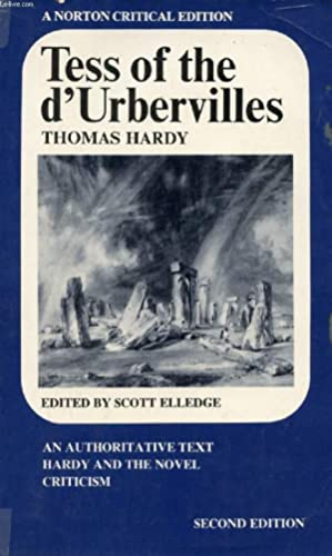 TESS OF THE D'URBERVILLES: HARDY THOMAS, By
