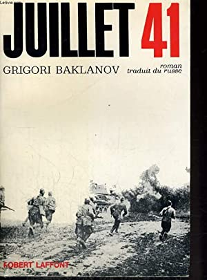 JUILLET 41: BAKLANOV Grigori