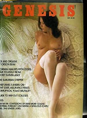 GENESIS, the magazine for men - SEX AND ORGASM BY ORSON BEAN - JORMAN MAILER'S FIFTH ESTATE: ...