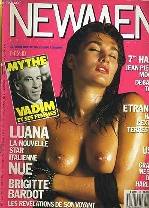 NEWMEN N°9-10 - LUANA LA NOUVELLE STAR ITALIENNE NUE - BRIGITTE BARDOT, LES REVELATIONS DE SON ...