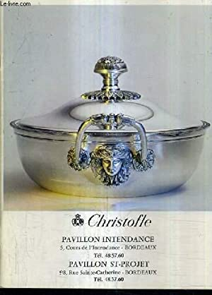 CHRISTOFLE PAVILLON INTENDANCE - PAVILLON ST PROJET.: COLLECTIF