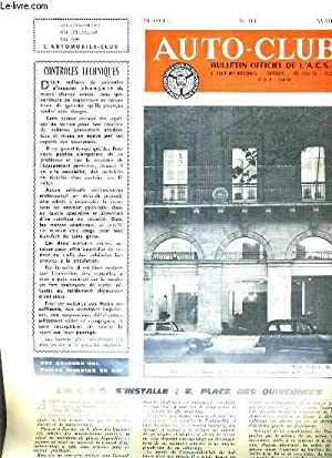 AUTO CLUB BULLETIN OFFICIEL DE L'A.C.S.O N°113 AVRIL 1968 - Jurisprudence - ré...