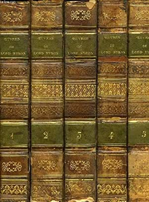 OEUVRES DE LORD BYRON, 8 TOMES (COMPLET): BYRON LORD