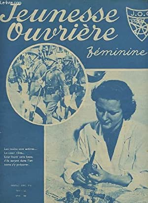 JEUNESSE OUVRIERE- N°4 AVRIL 1940 : LUCETTE: COLLECTIF