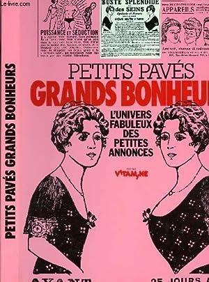 PETITS PAVES GRANDS BONHEURS - L'UNIVERS FABULEUX: MARZELLE FERNAND