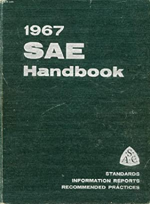 1967 SAE HANDBOOK: COLLECTIF