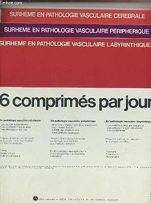 SURHEME EN PATHOLOGIE VASCULAIRE LABYRINTHIQUE - 3 FASCICULES.: COLLECTIF