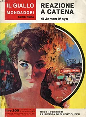 IL GIALLO MONDADORI, SERIE NERA, N° 920,: MAYO JAMES
