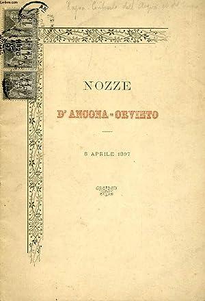 NOZZE D'ANCONA-ORVIETO, 8 APRILE 1897, CONTRASTO DELL'ACQUA: COLLECTIF