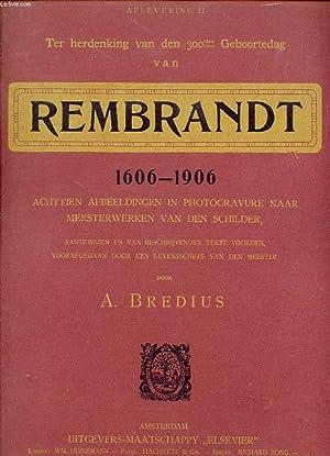TER HERDENKING VAN DEN 300sten GEBOORTEDAG VAN: BREDIUS A.