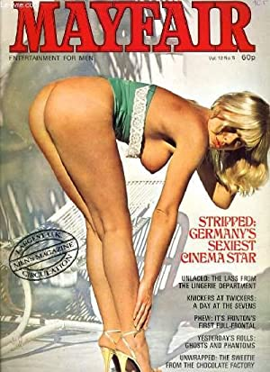 MAYFAIR VOL. 12 No. 5 - STRIPPED: GERMANY'S SEXIEST CINEMA STAR - UNLACED: THE LASS FROM THE ...