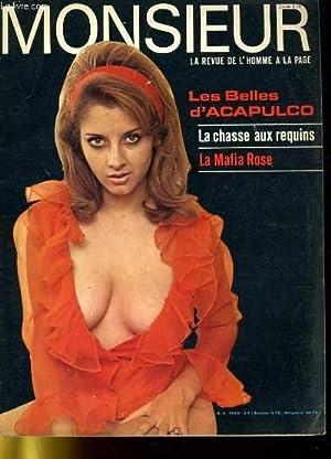 MONSIEUR N°3 LE REVUE DE L'HOMME A LA PAGE - LES BELLES D'ACAPULCO - LA CHASSE AUX ...