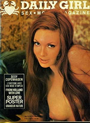 DAILY GIRL - SEX, MOVIE, MAGAZINE No. 11/70 - SEXU COPENHAGEN - L'EROTISME AVEC SON MODE ...