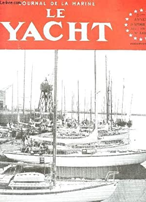 LE YACHT , LA VOILE ET LE MOTEUR / 82e année - 20 septembre 1958 / Le XXIVe salon nautique ...