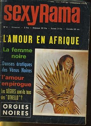 SEXY RAMA N°4 - L'AMOUR EN AFRIQUE: COLLECTIF