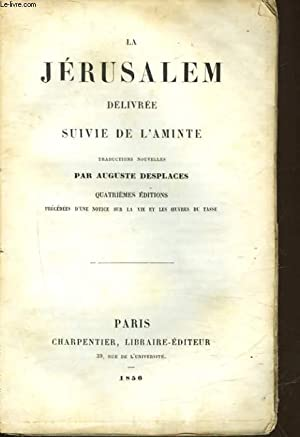 LA JERUSALEM DELIVREE SUIVIE DE L'AMINTE: COLLECTIF