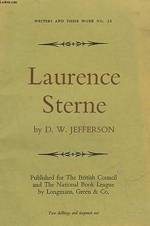 LAURENCE STERNE: JEFFERSON D. W.