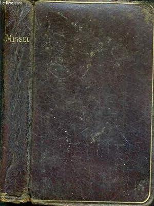 MISSEL RECUEIL PAROISSIAL DE PRIERES ET DE: SAURIN ABBE