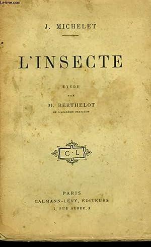 L'INSECTE.: MICHELET J.