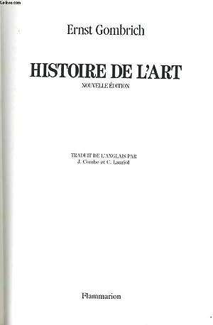 HISTOIRE DE L'ART: ERNST GOMBRICH