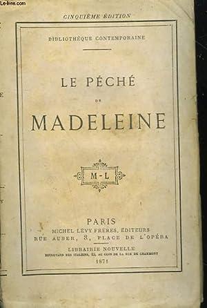 LE PECHE DE MADELEINE.: COLLECTIF.