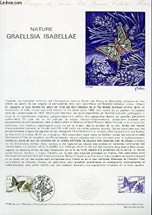 DOCUMENT PHILATELIQUE OFFICIEL N°17-80 - NATURE GRAELLSIA ISABELLAE (N°2089 YVERT ET TELLIER)