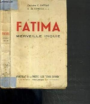 FATIMA MERVEILLE INOUIE: BARTHAS C. CHANOINE.