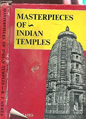 MASTERPIECES OF INDIAN TEMPLES (100 PLATES).: RUSTAM J. MEHTA
