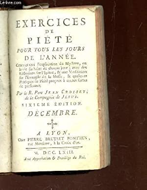 EXERCICES DE PIETE POUR TOUS LES JOURS: PERE JEAN CROISET