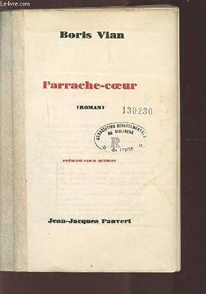 L'ARRACHE-COEUR.: VIAN BORIS
