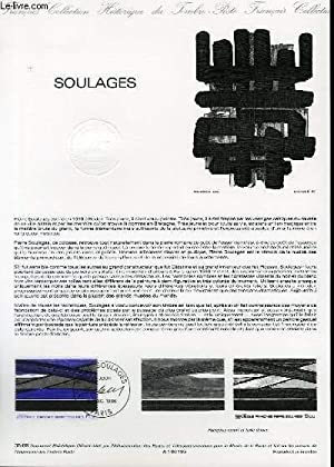 DOCUMENT PHILATELIQUE OFFICIEL N°35-86 - SOULAGES (N°2448 YVERT ET TELLIER)