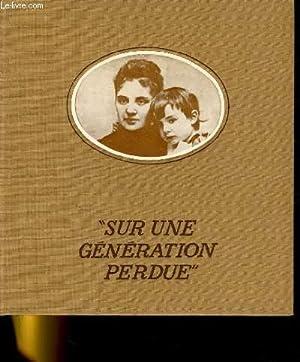 SUR UNE GENERATION PERDUE: MICHEL SUFFRAN.