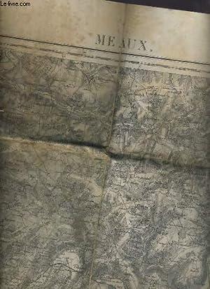CARTE - N° 49 - MEAUX - ECHELLE 1: 10 ?: COLLECTIF