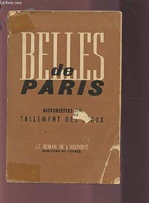 BELLES DE PARIS - HISTORIETTES DE TALLEMANT DES REAUX.: GABORY GEORGES