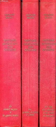 HISTOIRE MONDIALE DES GUERRES DE LA PREHISTOIRE A L'AGE ATOMIQUE - EN 3 TOMES - TOME 1 : DE L&...