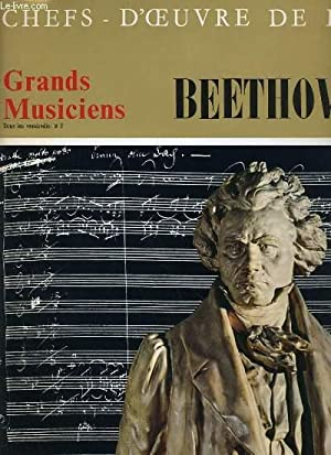 CHEFS D'OEUVRES DE L'ART N°5 - GRANDS MUSICIENS - BEETHOVEN (II): COLLECTIF