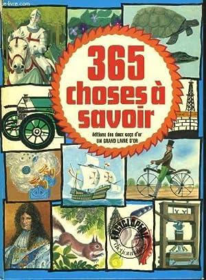 365 CHOSES A SAVOIR: PARKER CLIFFORD