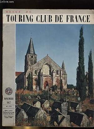 TOURING - CLUB DE FRANCE N° 678. Eglise romane d'Aulnay de Saintonge.: COLLECTIF