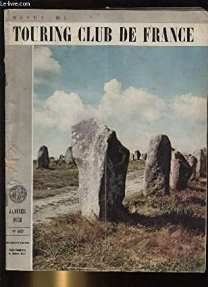 TOURING - CLUB DE FRANCE N° 680. Menhirs à Carnac.: COLLECTIF