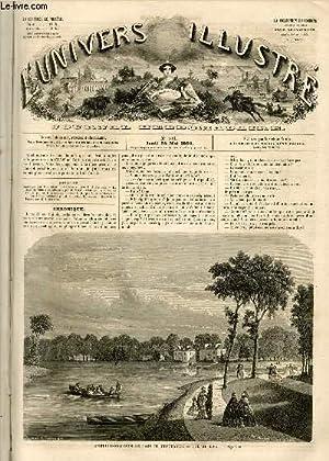 L'UNIVERS ILLUSTRE - TROISIEME ANNEE N° 106 - Embellissements du bois de Vincennes - vue ...