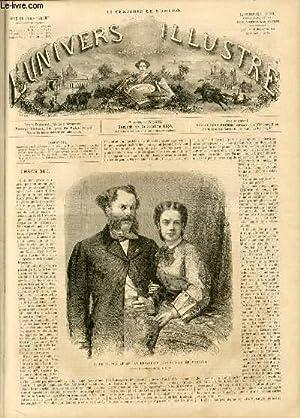 L'UNIVERS ILLUSTRE - SEPTIEME ANNEE N° 382 - M. le prince et Mme la princesse Richard de ...