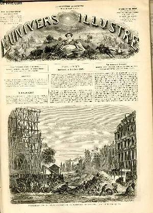 L'UNIVERS ILLUSTRE - HUITIEME ANNEE N° 473 Embellissement de Paris - Percement du Boulevard de ...