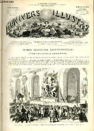 L'UNIVERS ILLUSTRE - DOUXIEME ANNEE N° 765 Nouvel opéra: COLLECTIF