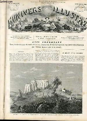 L'UNIVERS ILLUSTRE - TREIZIEME ANNEE N° 803 - Algérie, la colonne expé...
