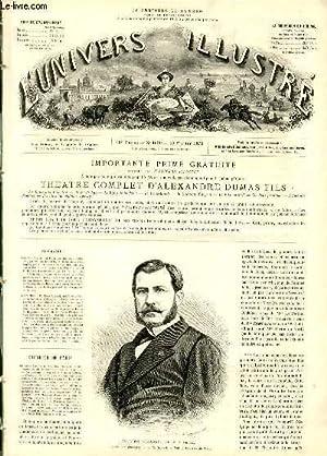 L'UNIVERS ILLUSTRE - DIX-HUITIEME ANNEE N° 1039 M. Léon Renault, préfet de police, d'après ...